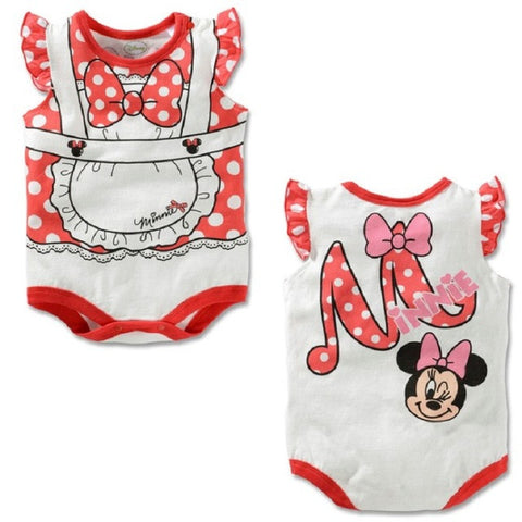Cartoon Baby Bodysuit Mickey Boys Clothes