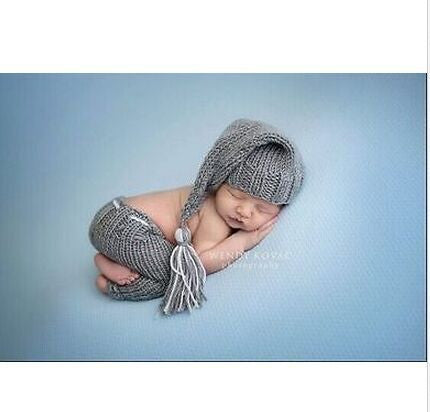 Newborn Baby Boys Crochet Outfits