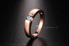 Ring Rose Gold & Silver Color