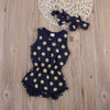 Tassel Dazzel Romper with Headband