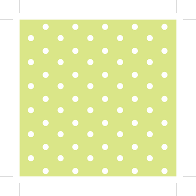 Lime and White Polka Dot - Hair Clip and Headband Holder (FREE SHIPPING)