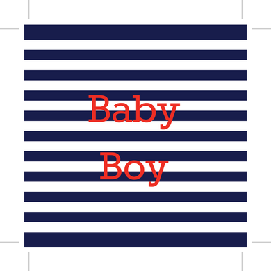 Baby Boy Folding Board (Set of 10)