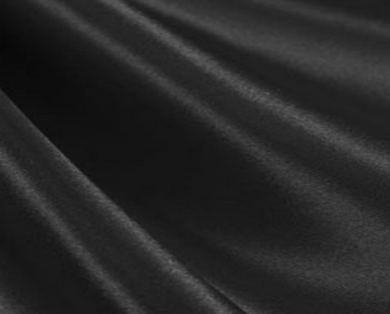 Black Satin Luxe (set of 10)