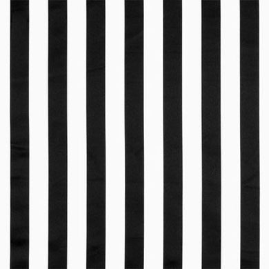 Black and White Satin Stripe