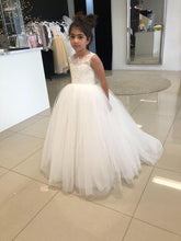 New Design Backless Princess Flower Girl Dresses