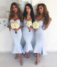 Sexy Little Mermaid Short Bridesmaid Dresses