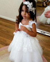 Cute Backless Flower Girl Dress with Bow