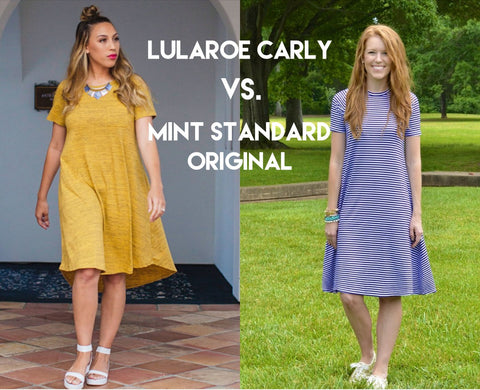 Lularoe Carly vs Mint Standard Original Reviews