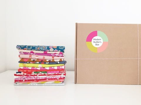 The Modern Quilter's Box subscription