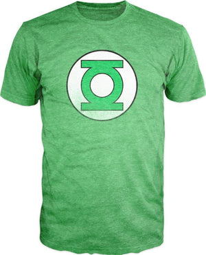 DC Comics Green Lantern Heather Tee Shirt T-Shirt