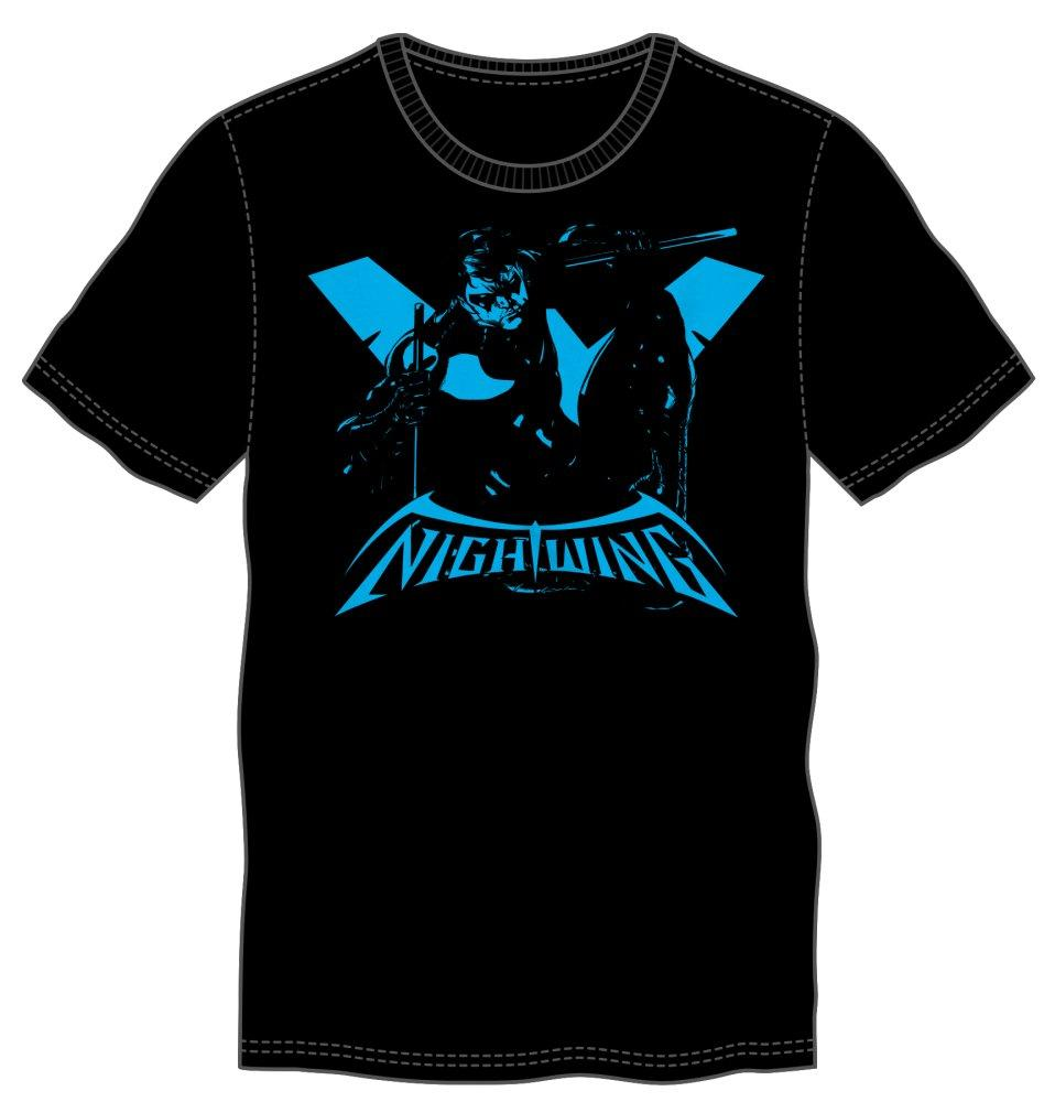 DC Comics Superhero Nightwing Tee Shirt T-Shirt