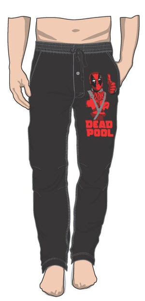 Marvel Comics Deadpool Thumbs Up Approves Sleep Lounge Pants