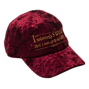 Marauder Hat - Crushed Velvet Hat w/ Marauders Vow