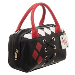 Haryley Quinn Diamond Mini Satchel Bag Handbag