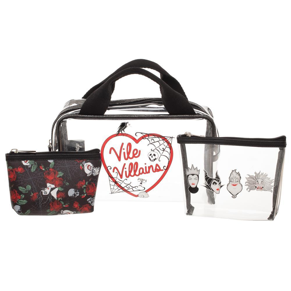 Disney Villains Makeup Bags Disney Travel Bags Disney Villains Gift - Disney Villains Bags Disney Villains Gft