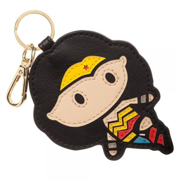 Wonder Woman Pu Layered Keychain