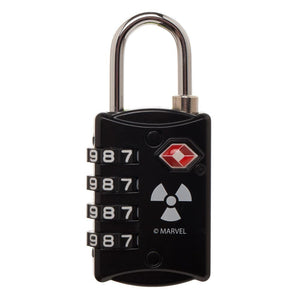 Marvel Comics Hulk Graphic Design TSA Approved Travel Combination Luggage Lock for Suitcase Baggage
