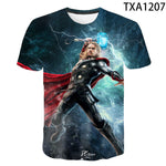 New Summer Thor T Shirt