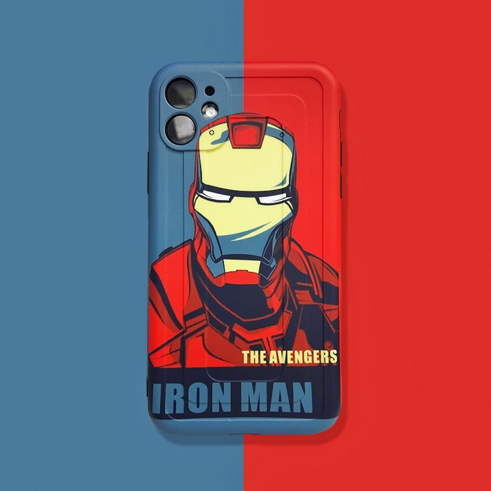Marvel Iron Man Precise hole Phone case
