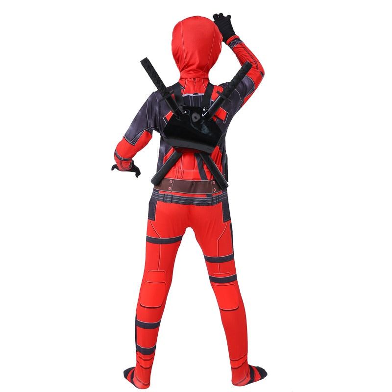 kids Superhero Deadpool costume