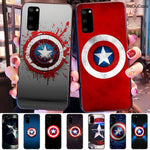 Superhero Captain America Phone Case
