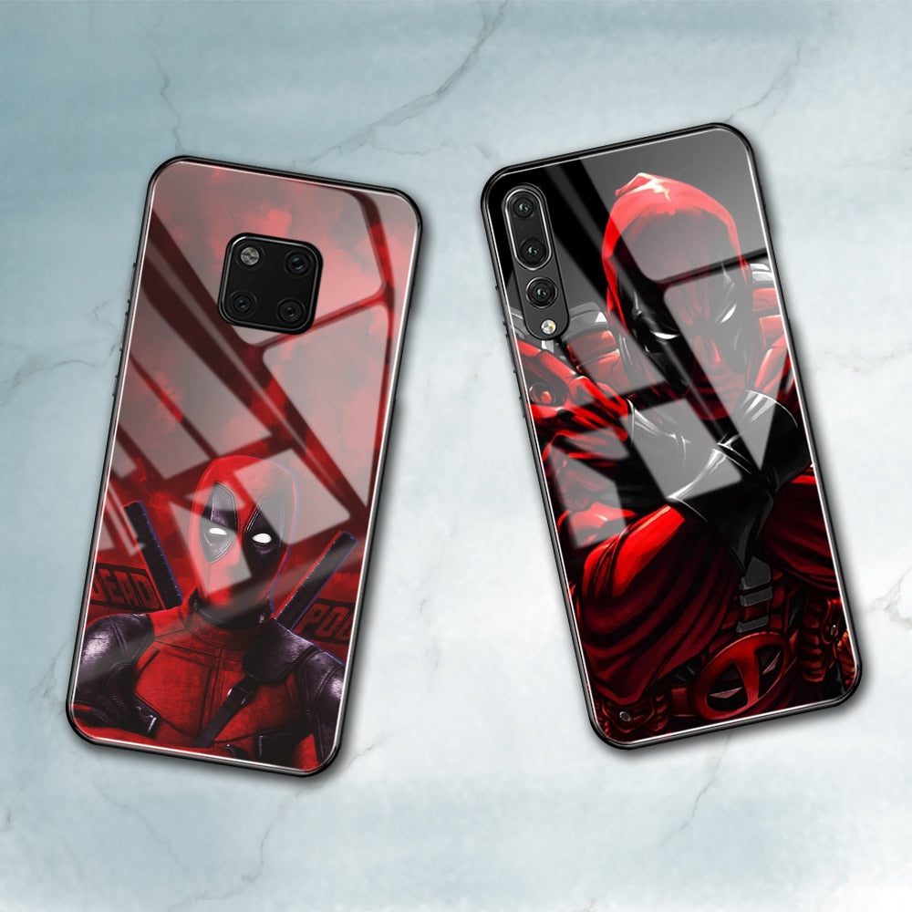 Deadpool Genuine Case for Huawei