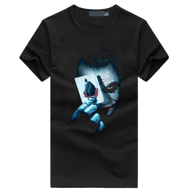 The Joker Black Vintage Men T-Shirt