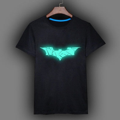 Batman Sign Fluorescent Luminous Men's T-Shirt