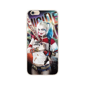 Squad DC Harley Quinn Comics Hard Phone Case