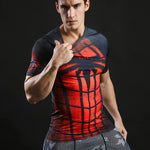 Spiderman All-over Printed Quick Dry T-Shirt