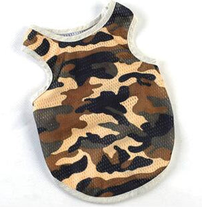 Camouflage Breathable Vest for large Dogs