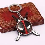 Deadpool Mask Keychain