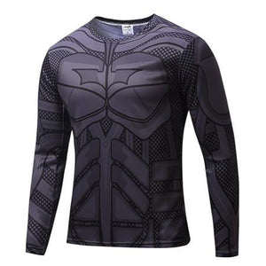 Batman Compression Long T-Shirt