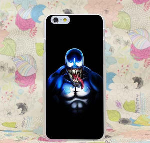 Venom Marvel Blue Hard Transparent Cover Case