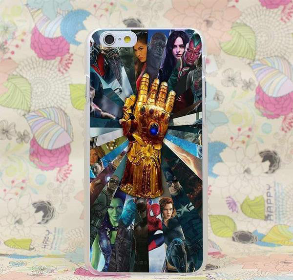 Marvel Infinity Gauntlet Transparent Cover Case