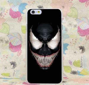 Venom Marvel Evil Laugh Transparent Cover Case