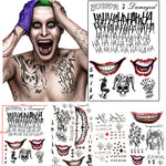 The Joker Temporary Tattoo Sticker