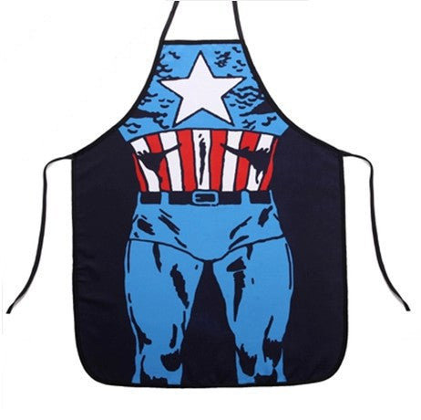 Captain America Kitchen Apron