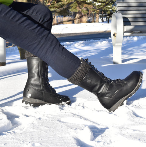Comfy Moda Women's Waterproof Winter Boots Storm