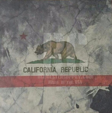California State Flag Custom Print.
