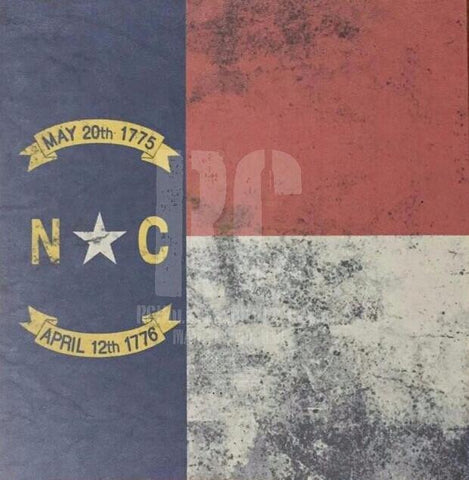 North Carolina Custom Print