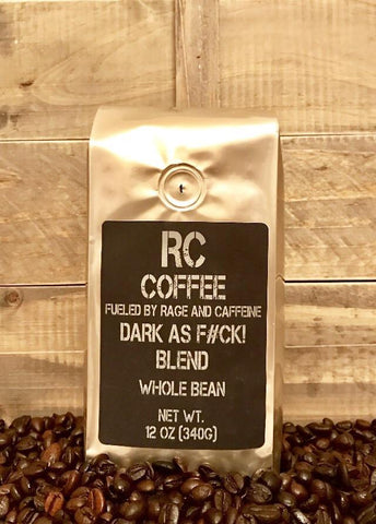 RC Coffee Dark as F#CK! BLEND