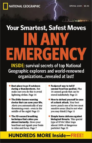 Complete Survival Manual book promotion - National Geographic