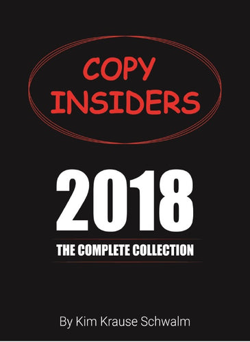 Copy Insiders 2018 The Complete Collection