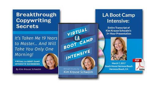 Virtual LA Boot Camp Intensive: Virtual Version Only Plus BONUS Transcript PDF