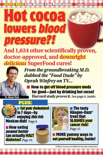 Superfoods Rx book promotion--Boardroom