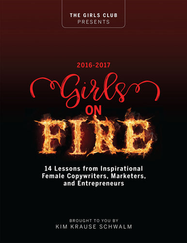 Girl on Fire Book 2016-17