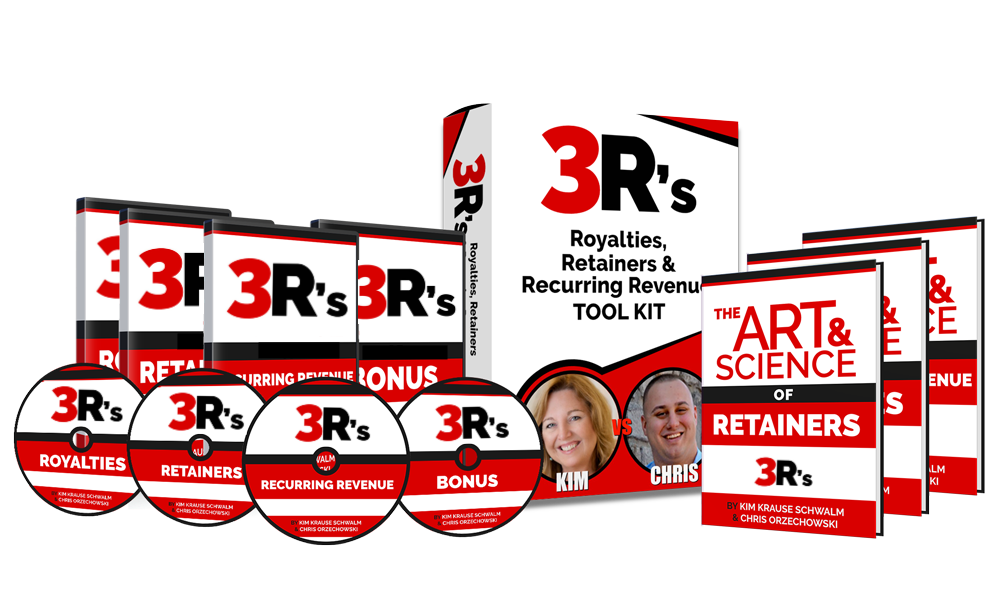3 R's: Royalties, Retainers & Recurring Revenue Complete Virtual Program