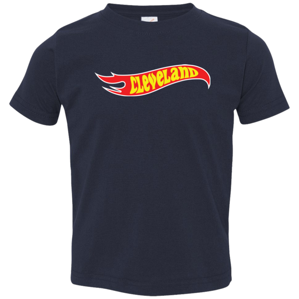 Cleveland Flame Toddler Tee