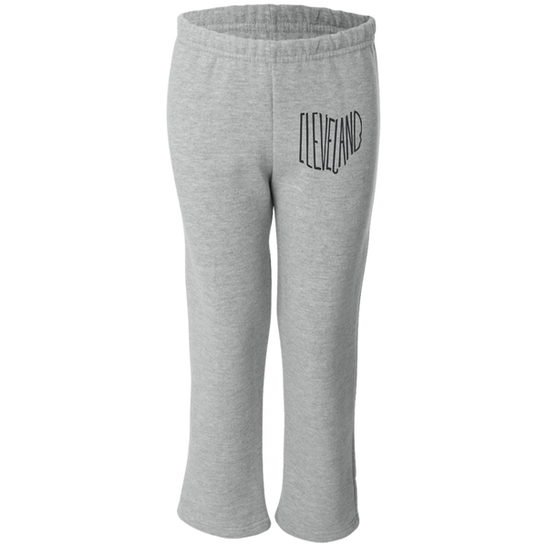 Ohio Cleveland Youth Open Bottom Sweatpants